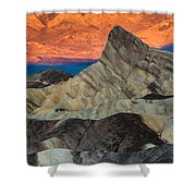 Sunrise At Manly Beacon Shower Curtain