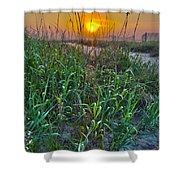 Sunrise At Myrtle Beach Shower Curtain