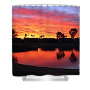 Sunrise At Polly's Shower Curtain