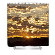 Sunrise At Spirit Lake Sanctuary Lower Lake Ca 20140710 0609 Shower Curtain