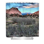 Sunrise At The Gods Shower Curtain