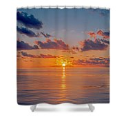 Sunrise At The Seychelles Shower Curtain