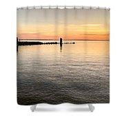 Sunrise At The Straits Shower Curtain