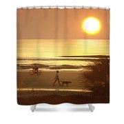 Sunrise At Topsail Island 2 Shower Curtain