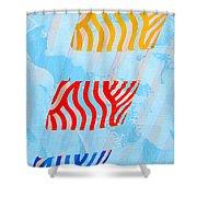 Sunrise B Shower Curtain