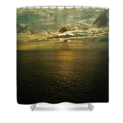 Sunrise Beams Hatteras 15 10/18 Shower Curtain