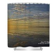 Sunrise Biloxi Ms Dec 2 2013 Shower Curtain