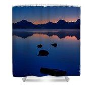 Sunrise Blues Shower Curtain