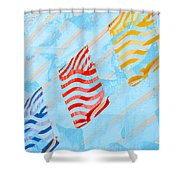 Sunrise C Shower Curtain