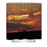 Sunrise Closeup 9-11-2013 Shower Curtain