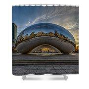 Sunrise Cloud Gate Shower Curtain