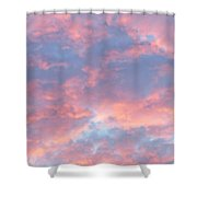 Sunrise Clouds Shower Curtain
