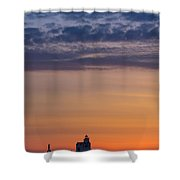 Sunrise Genesis Shower Curtain