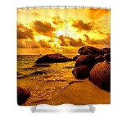 Sunrise In Bintan 2 Shower Curtain