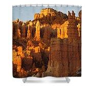 Sunrise In Bryce's Fairyland Shower Curtain