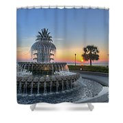 Sunrise In Charleston Shower Curtain