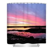 Sunrise In Maine Shower Curtain