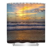 Sunrise In Salvo Shower Curtain