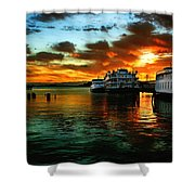 Sunrise In San Francisco Shower Curtain
