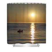 Sunrise In Stone Harbor New Jersey Shower Curtain