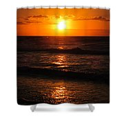 Sunrise In Texas 5 Shower Curtain