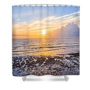 Sunrise In The Atlantic Shower Curtain