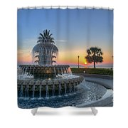 Sunrise In The Lowcountry Shower Curtain
