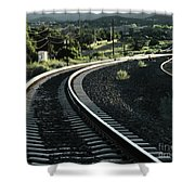 Sunrise In The Yard Shower Curtain