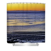 Sunrise Ipswich Bay Shower Curtain