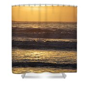Sunrise Newport Ri Winter 2013 Shower Curtain