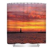 Sunrise Of Hope Shower Curtain