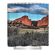 Sunrise Of The Gods Shower Curtain