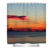 Sunrise On A Cloudy Morn Shower Curtain