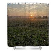 Sunrise On A New Day Shower Curtain