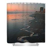 Sunrise On Daytona Shower Curtain