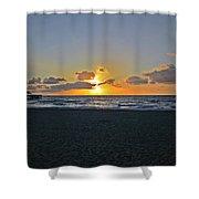 Sunrise On Deerfield Beach Shower Curtain