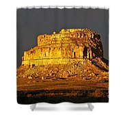 Sunrise On Fajada Butte Shower Curtain