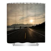 Sunrise On Highway 16 Shower Curtain