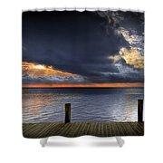 Sunrise On Key Islamorada In The Florida Keys Shower Curtain