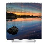Sunrise On Little River Shower Curtain