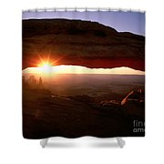 Sunrise On Mesa Arch Shower Curtain