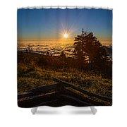 Sunrise On Mount Mitchell Shower Curtain