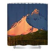 1m5306-sunrise On Mt. Washington Shower Curtain