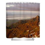 Da5901-sunrise On Steens Mountain Shower Curtain
