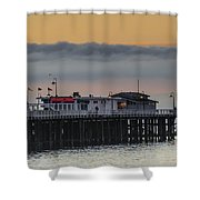 Sunrise On The Bay Shower Curtain by Bruce Frye