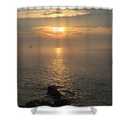 Sunrise On The East Coast Shower Curtain