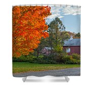 Sunrise On The Farm Shower Curtain