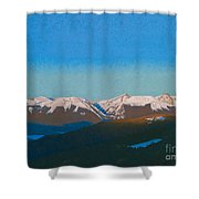 Sunrise On The Gore. Shower Curtain