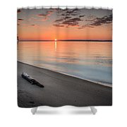 Sunrise On The Potomac Shower Curtain