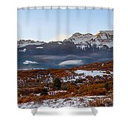 Sunrise On The San Juans Shower Curtain